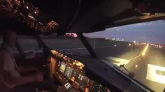 Kokpit kamerasından birçok pilotun ilk göz ağrısı Boeing 737'nin kalkış anı