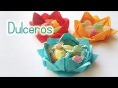 Manualidades: DULCEROS para Fiestas con servilletas (Muy fácil) - Innova Manualidades - YouTube