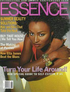 Ebony Magazine Covergirl Cynthia Hurst Pics