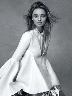 Miranda Kerr pour le Vogue Australie :