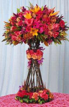 Summer flower arrangement