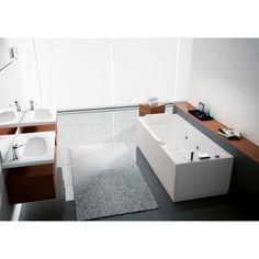 La #vasca Calos con disinfezione di #Novellini è perfetta per i vostri momenti di relax.  #Rubinetteriashop