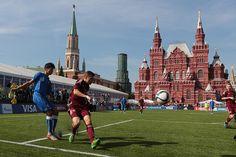 Футбол на Красной площади (Москва)