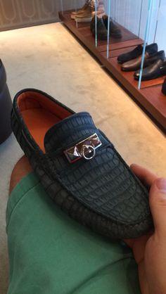 Cocodile Hermès Loafers- 10 eb7dc8707