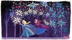 Elsa Ana y Olaf by Lorelay Bové. ¿Por qué nos gustan las películas de Disney?