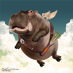 Chop A Hippo 3 - Worth1000 Contests: Hippo Cupid