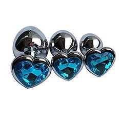 Amazon.com: 3Pcs Set Luxury Metal Butt Toys Heart Shaped Anal Trainer Jewel Butt Plug Kit S&M Adult Gay Anal Plugs Woman Men Sex Gifts Things for Beginners Couples Large/Medium/Small,Red: Health & Personal Care Bedroom Toys, Bedroom Fun, Gentleman, Toys For Us, Wand Massager, Bad Girls Club, Heart Shapes, Plugs, Trainers