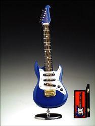 Blue Electric Guitar Music Box #hiddentreasuresdecorandmore