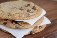 Perfect Chocolate Chip Cook (Cooks Illustrated browned butter version) chefpapag vuala