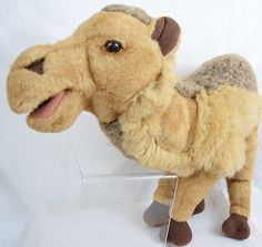 Camel Folkmanis Full Body Plush Hand Puppet Library Story Time Puppet Show