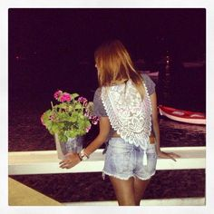 Tonos T-shirt  #madameshoushou #madame shou shou #tshirt #lace #vintage #girly #cute #girl #sea #port #boat #summer #greece #inspiration