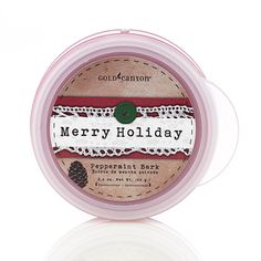 2.4 oz. Peppermint Bark Scent Pod® is the culmination of refreshing peppermint and rich creamy milk chocolate. Just add to a Scent Pod Warmer to finish off the perfect #gift from #gold canyon.