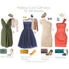 Soft Autumn Wedding Guest