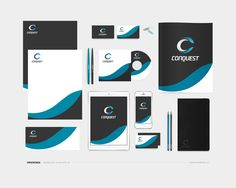 Corporate Identity – CONQUEST ––– MAYDESIGN http://maydesign.pl