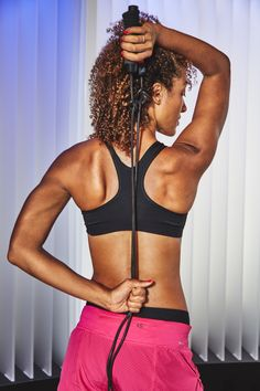 Want to look lighter without shedding a single pound? Strengthening your upper body, back, and shoulders is the key.