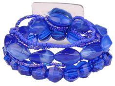 Potpourri Flower Bracelet - Bluberry | PO1201