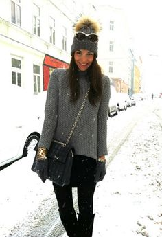 Diy Glasses / Sunglasses, Steffner Beanies / Berets and Zara a/w 2012 Sweaters