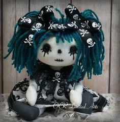Rapture Zombie Brooch Artist Gift Wool Halloween Decoration Neede Felted Handmade Bears