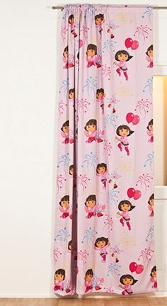 dora curtain 100 polyester wwwkidsfabricseu