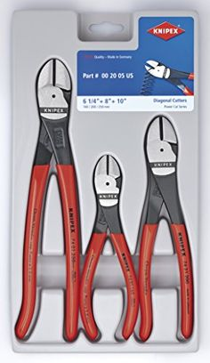 Knipex 002005S2 High Leverage Diagonal Cutter Pliers Tool...
