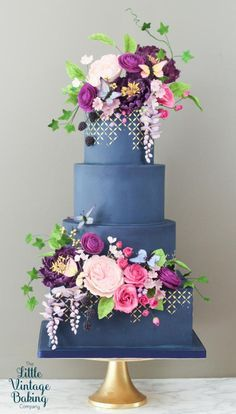 Midsummer Night's Eve Cake - Cake by Ashley Barbey