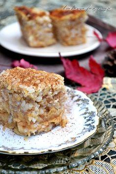 zapiekany ryż z jabłkami i cynamonem Polish Desserts, Polish Recipes, No Bake Desserts, European Dishes, Vegetarian Recipes, Cooking Recipes, Quick Snacks, Healthy Dishes, Food Photo