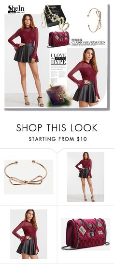 """""""SHEIN"""" by umay-cdxc ❤ liked on Polyvore featuring Chanel"""