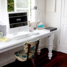Bespoke Press desk RHS. Check out those gorgeous legs!