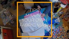 Here are some tips on how to make your own fabric mask! #COVID19 Diy Mask, Diy Face Mask, Face Masks, Make Your Own, Make It Yourself, How To Make, First Day Of School, Survival Skills, Mask Design