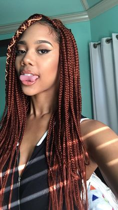 Burgundy Box Braids Hairstyles for Black Women. In this post you will find Updo . Burgundy Box Braids Hairstyles for Black Women. In this post you will find Updo Burgundy Box Braids Hairstyles for Black. Burgundy Box Braids, Burgundy Hair, Black Braids, Box Braids Hairstyles For Black Women, African Hairstyles, Cabelo Inspo, Curly Hair Styles, Natural Hair Styles, Blonde Box Braids