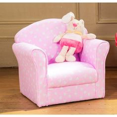 childrens chairs soft upcycled dining room 24 best children s images armchair kids pink fabric armchairs sofa