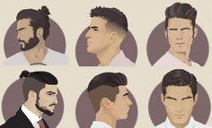 Rhuana Pires: Cortes masculinos - Estilosos