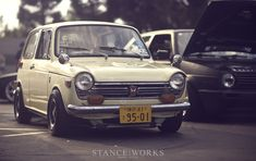 Honda N360 - That's not an Instagram filter; things just look sepia-ish in its presence.