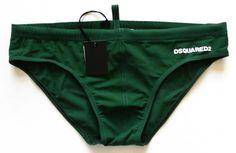 Dsquared Green Swim