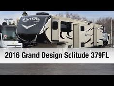 Are you looking for a great fifth wheel? Do you want five slides for extra interior space? If so check out this New 2016 Grand Design Solitude Fifth Wh. Fifth Wheels For Sale, 5th Wheels, Grand Designs, Solitude, Recreational Vehicles, Trailers, Rv, Motorhome, Camper Van
