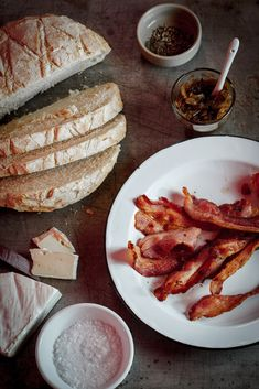 Bacon & Brie grilled cheese
