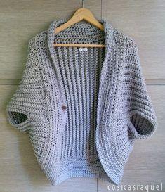 cosicasraquel: Chaqueta Kimono a Crochet