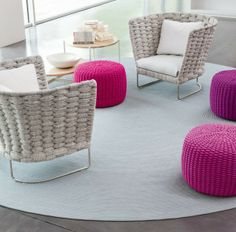 CHAIR - DIY Knitted Furniture Ideas.