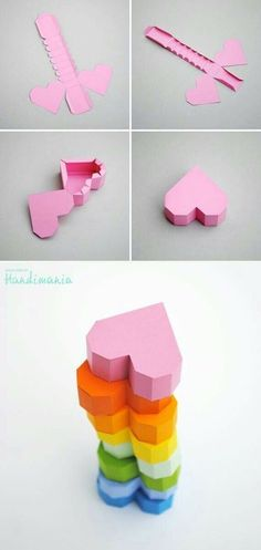 Origami box for kids crafts super Ideas Instruções Origami, Paper Crafts Origami, Diy Paper, Paper Art, Heart Origami, Oragami, Origami Envelope, Origami Boxes, Origami Ideas