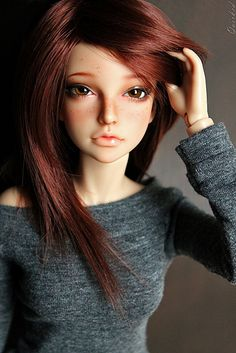 Iplehouse JID Isar, named Carleigh  Looks like Anime Barbie Doll   November 2013  http://www.flickr.com/photos/56502036@N04/7173316217/