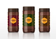 Sanka Coffee (Student Project) on Packaging of the World - Creative Package Design Gallery