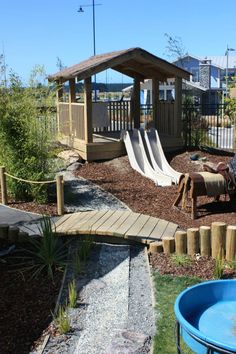 Nature's Play Preschool - Pegasus outdoor environment ≈≈