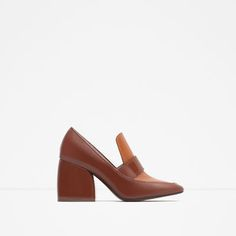 Image 1 of HIGH HEEL RETRO SHOES from Zara