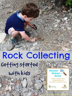 Go Rock Collecting with Kids - Read books about it and head outside to start your own collection!