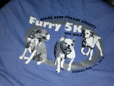 Spokes pup for CBHS Furry 5k