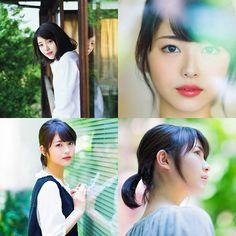 浜辺美波 Japanese Eyes, Photo Composition, Asia Girl, Face Hair, Bellisima, Beauty Women, Hair Makeup, Hair Beauty, Kawaii