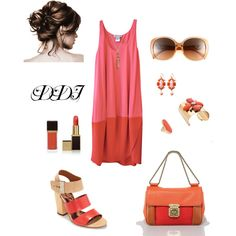 Colorblock, created by dawndayiannelli on Polyvore