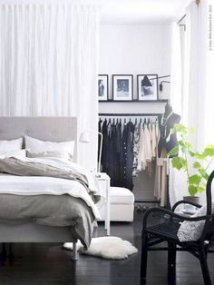 Stylish studio apartment decorating ideas on a budget (12)