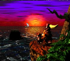 Final para Donkey Kong Country 2-Lost World End (Super NES)