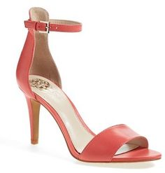 Women's Vince Camuto 'Court' Ankle Strap Sandal, Size 10.5 M - Pink
